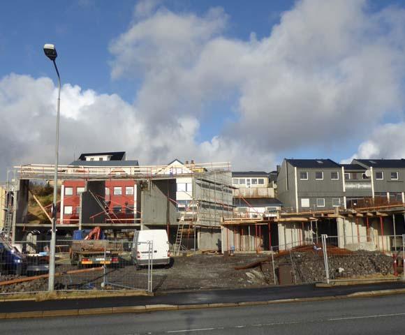 Feb 2015, íbúðirnar byrja at taka skap