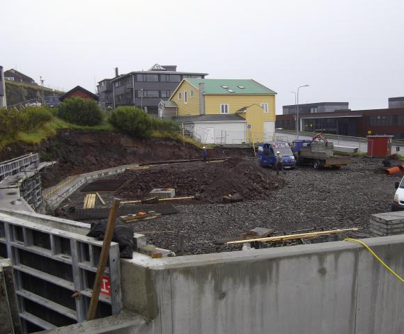 Sep 2014, stoypiarbeiðið í gongd